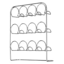 Buy John Lewis Chrome Spice Rack, Empty Online at johnlewis.com