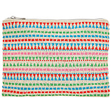 Buy Collection WEEKEND by John Lewis Multibeaded Stripe Clutch Bag, Multi Online at johnlewis.com