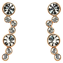 Buy Melissa Odabash Swarovski Crystal Curve Drop Earrings Online at johnlewis.com
