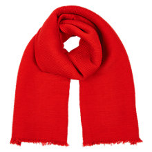 Buy Oasis Paris Crinkle Scarf, Mid Orange Online at johnlewis.com