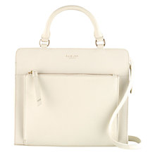 Buy Radley Clerkenwell Medium Multiway Leather Bag, Ivory Online at johnlewis.com