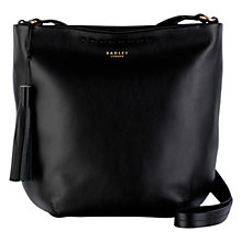 Buy Radley Charlotte Street Medium Across Body Bag, Black Online at johnlewis.com