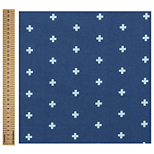 Buy Freespirit Cross Midnight Print Fabric Online at johnlewis.com