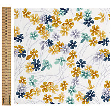 Buy Freespirit Meadow Maize Print Fabric Online at johnlewis.com