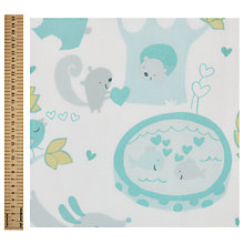 Buy Sweethearts Woodland Animal Print Fabric Online at johnlewis.com