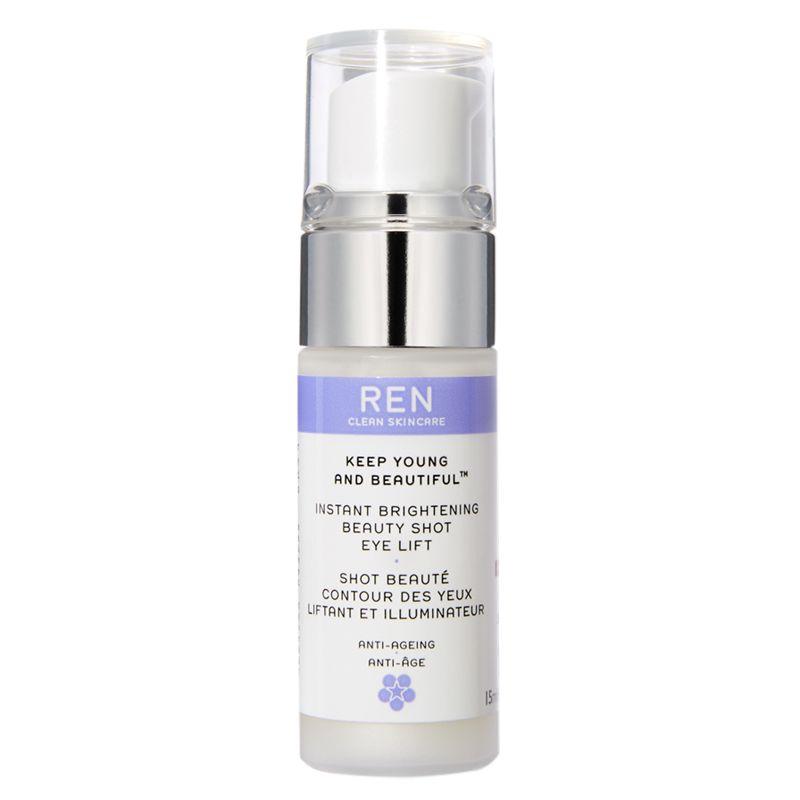 REN REN Keep Young and Beautiful Instant Brightening Beauty Shot Eye Lift, 15ml