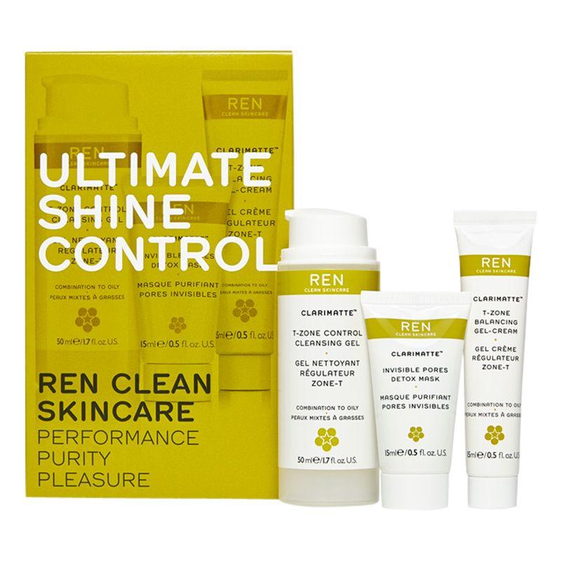 REN REN Clarimatte Ultimate Shine Control Skincare Gift Set
