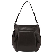 Buy Mint Velvet Libby Leather Tote Bag, Black Online at johnlewis.com