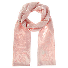 Buy Coast Devore Floral Wrap, Blush Online at johnlewis.com