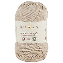 Buy Rowan Summerlite 4ply Yarn, 50g Online at johnlewis.com