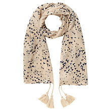 Buy Jigsaw Girls' Swallow Print Scarf, Oatmeal Online at johnlewis.com