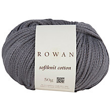 Buy Rowan Softknit Cotton Blend DK Yarn, 50g Online at johnlewis.com