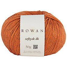 Buy Rowan Softyak DK Yarn, 50g Online at johnlewis.com
