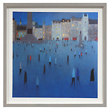 Buy Emma Brownjohn - Blue Light Framed Print, 50 x 50cm Online at johnlewis.com