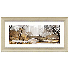 Buy Richard Macneil - Gapstow Bridge Framed Print, 112 x 57cm Online at johnlewis.com