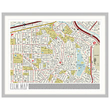 Buy Dorothy - Film Map Framed Print, 88 x 69cm Online at johnlewis.com