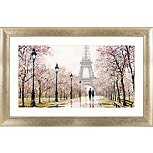 Buy Richard Macneil - Eiffel Tower Framed Print, 112 x 72cm Online at johnlewis.com