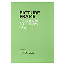 Buy John Lewis The Basics Clip Frame, 50 x 70cm Online at johnlewis.com