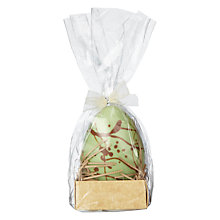 Buy The Cocoabean Company Salted Caramel White Chocolate Splash Easter Egg Online at johnlewis.com