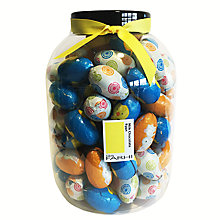 Buy Farhi Giant Tub Of Character Easter Eggs Milk Chocolate Online at johnlewis.com