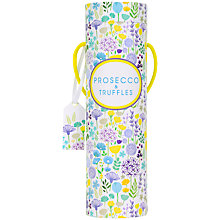 Buy Spring Mini Prosecco and Truffles Tube Online at johnlewis.com