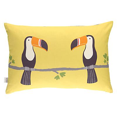 Scion Terry Toucan Cushion, Yellow