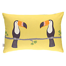 Buy Scion Terry Toucan Cushion, Yellow Online at johnlewis.com