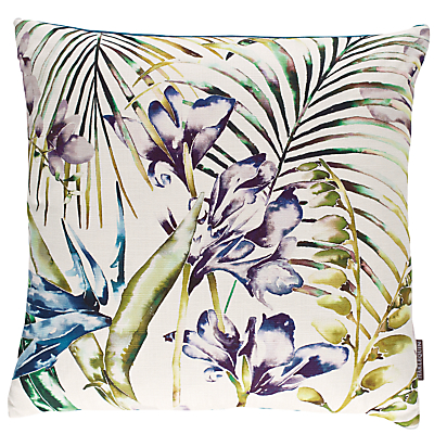 Harlequin Paradise Cushion, Blue