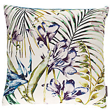 Buy Harlequin Paradise Cushion, Blue Online at johnlewis.com
