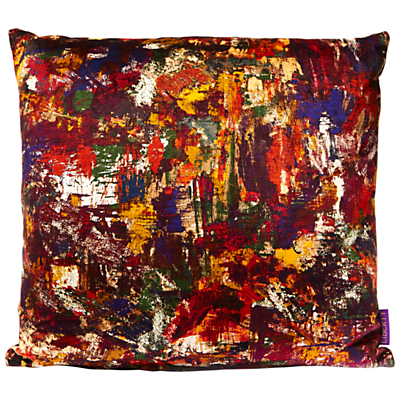 Liberty Porthmeor Beach Cushion, Studio Vintage Velvet