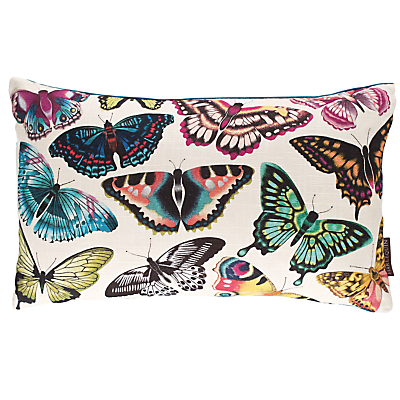 Harlequin Papilio Butterflies Cushion, Multi