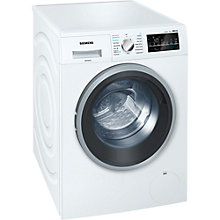 Buy Siemens WD15G421GB Washer Dryer, 8kg Wash/5kg Dry Load, A Energy Rating, 1500rpm Spin, White Online at johnlewis.com