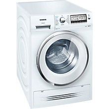 Buy Siemens WD15H520GB Washer Dryer, 7kg Wash/4kg Dry Load, A Energy Rating, 1500rpm Spin, White Online at johnlewis.com