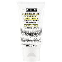 Buy Kiehl's Olive Fruit Oil Nourishing Conditioner, 75ml Online at johnlewis.com