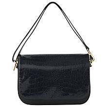 Buy Whistles Arion Croc Leather Across Body Bag Online at johnlewis.com