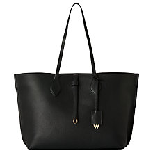 Buy Whistles Regent Soft Tote Bag, Black Online at johnlewis.com