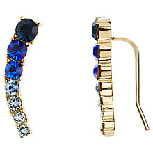 Buy kate spade new york 12ct Gold Plated Glass Stone Ear Pin Drop Earrings Online at johnlewis.com