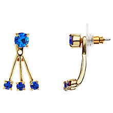 Buy kate spade new york 12ct Gold Plated Glass Stone Delicate Drop Earrings Online at johnlewis.com