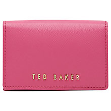 Buy Ted Baker Carley Small Leather Purse Online at johnlewis.com