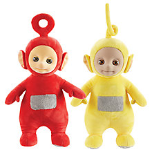 "Buy Teletubbies 10"" Tickle & Giggle Plush Toy, Assorted Online at johnlewis.com"