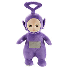 "Buy Teletubbies 8"" Talking Tinky Winky Plush Soft Toy Online at johnlewis.com"