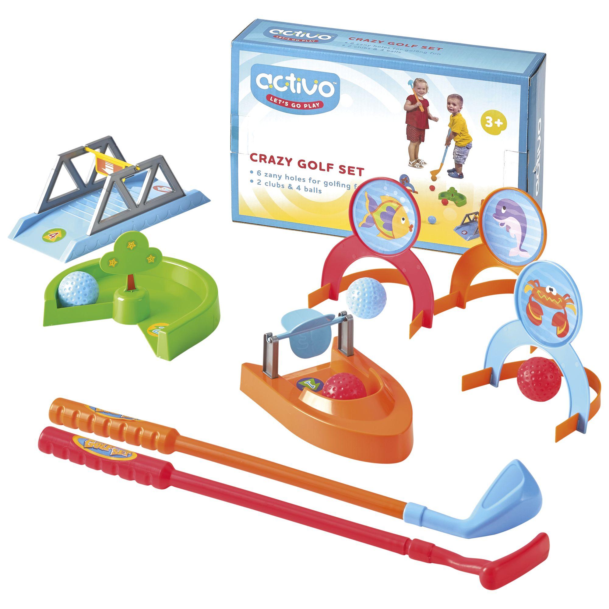 Mookie Toys Mookie Toys Crazy Golf Set