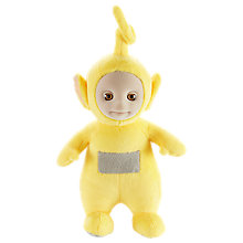 "Buy Teletubbies 8"" Talking Laa Laa Plush Soft Toy Online at johnlewis.com"