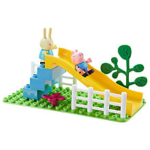 Buy Peppa Pig Playground Slide Construction Set Online at johnlewis.com