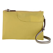 Buy Radley Pocket Essentials Medium Across Body Bag, Green Online at johnlewis.com