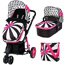 Buy Cosatto Giggle 2 Pushchair Complete Set with Carrycot and Changing Bag, Go Lightly Online at johnlewis.com