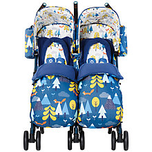 Buy Cosatto Supa Dupa Twin Pushchair, Fox Tale Online at johnlewis.com