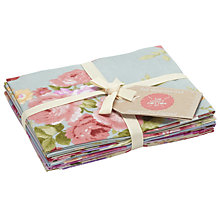 Buy Craft Cotton Co. Rose Garden Fat Quarter Craft Fabric, Multi Online at johnlewis.com
