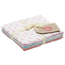 Buy Craft Cotton Co. Pastel Spot Fat Quarter Craft Fabric, Multi Online at johnlewis.com