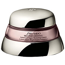 Buy Shiseido Bio-Performance Advanced Super Restoring Cream, 75ml Online at johnlewis.com